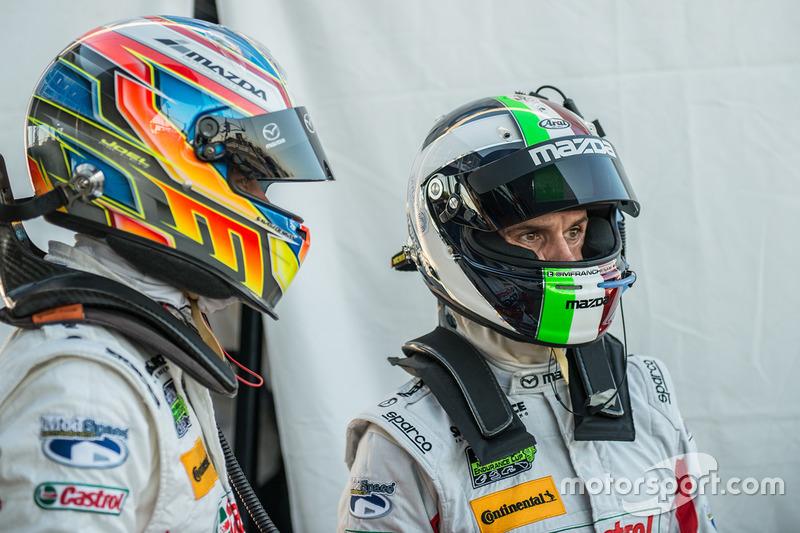 Джоэль Миллер и Марино Франкитти, Mazda Motorsports