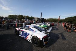 GT3 cars on display