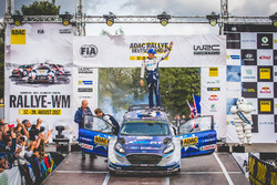 Ganadores del Rally, Ott Tänak, Martin Järveoja, Ford Fiesta WRC, M-Sport