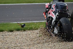 Unfall: Stefan Bradl, Honda World Superbike Team