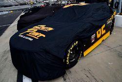 Brendan Gaughan, Richard Childress Racing Chevrolet with rain cover