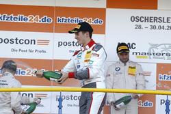 Podium: #2 Montaplast by Land-Motorsport, Audi R8 LMS: Jeffrey Schmidt