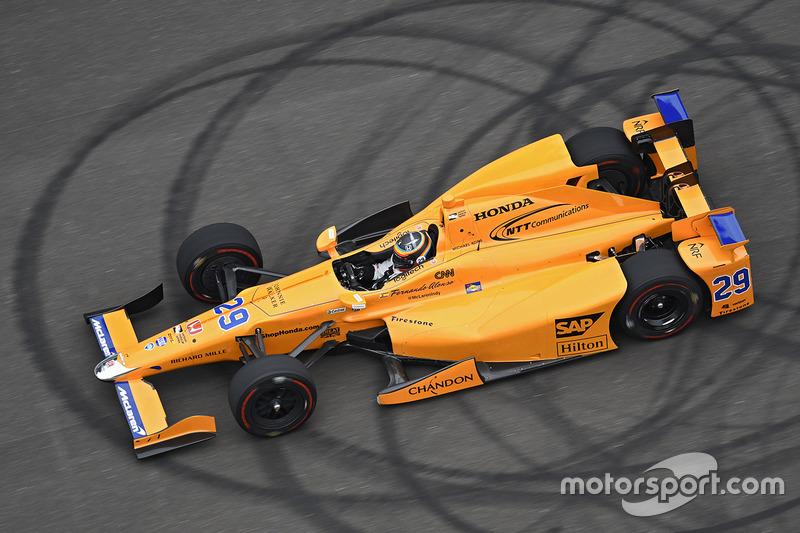 4. Fernando Alonso, Andretti Autosport Honda