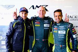 Polesitter GTE-Am: #98 Aston Martin Racing Aston Martin Vantage: Paul Dalla Lana, Pedro Lamy, Mathia