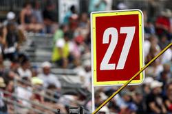 Marco Andretti, Andretti Autosport Honda sign