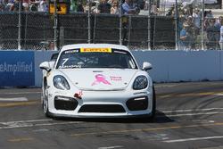 #7 KRUGSPEED Porsche Cayman GT4 Clubsport MR: Cameron Maugeri