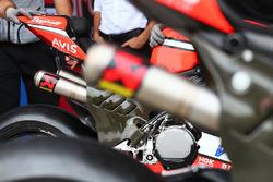 Ducati Team, dettaglio dello scarico