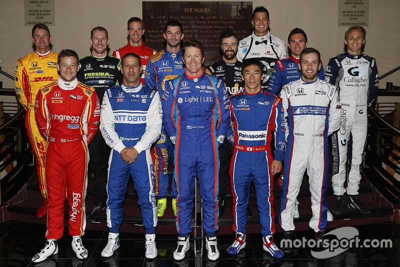 I piloti Honda IndyCar 2017