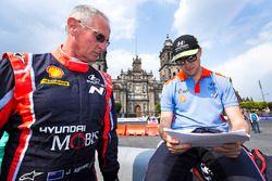Hayden Paddon, John Kennard, Hyundai Motorsport