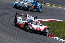 #1 Porsche Team Porsche 919 Hybrid: Neel Jani, Andre Lotterer, Nick Tandy, #77 Dempsey Proton Compet