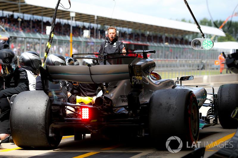 Льюіс Хемілтон, Mercedes-Benz F1 W08