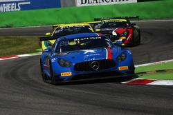 #15 Black Falcon, Mercedes-AMG GT3: Brett Sandberg, Dore Chaponik, Scott Heckert