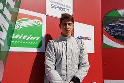 Francesco Massimo De Luca, sul podio