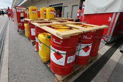 Fuel drums