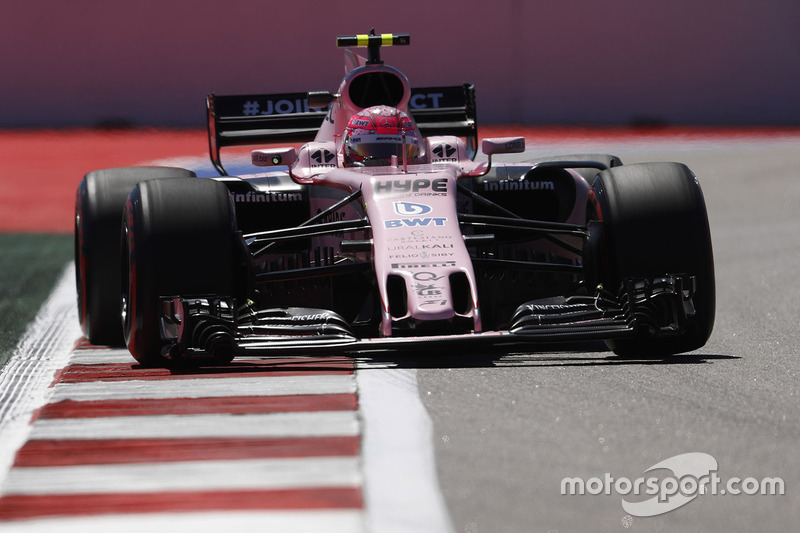 11. Esteban Ocon, Sahara Force India F1 VJM10