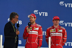 Eddie Jordan, Channel 4 F1 TV talks, Sebastian Vettel, Ferrari and Kimi Raikkonen, Ferrari