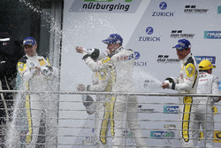 Podium: #98 Rowe Racing, BMW M6 GT3: Markus Palttala, Nicky Catsburg, Richard Westbrook, Alexander S