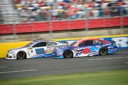 Dale Earnhardt Jr., Hendrick Motorsports, Chevrolet; Trevor Bayne, Roush Fenway Racing, Ford