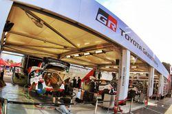 Team area Toyota Racing