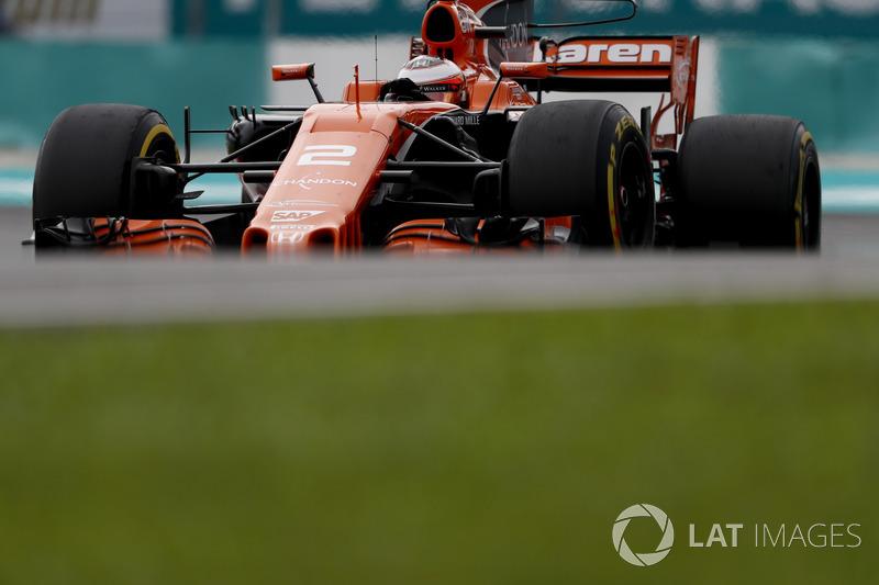 7th : Stoffel Vandoorne (McLaren-Honda)