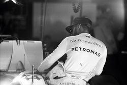 Lewis Hamilton au GP du Mexique 2016