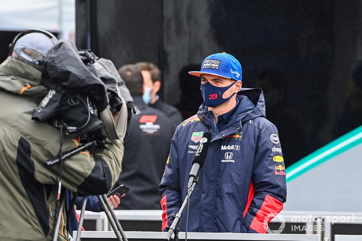 Max Verstappen, Red Bull Racing parla alla stampa