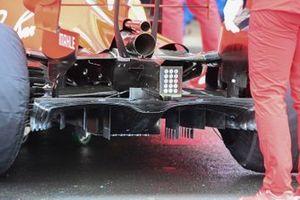 Ferrari SF1000 rear diffuser detail