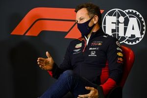 Christian Horner, Team Principal, Red Bull Racing, in the Press Conference
