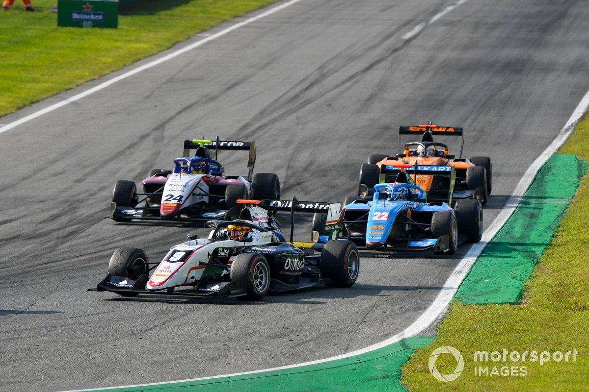 Sebastian Fernandez, ART Grand Prix, Matteo Nannini, Jenzer Motorsport e Igor Fraga, Charouz Racing System