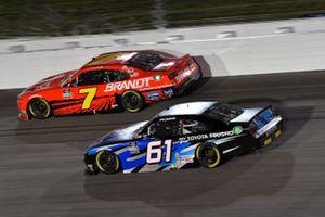 Justin Allgaier, JR Motorsports, Chevrolet Camaro BRANDT Austin Hill, Hattori Racing Enterprises, Toyota Supra Toyota Tsusho