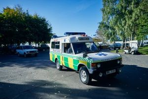 A Range Rover ambulance