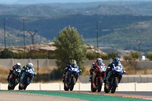 Corentin Perolari, GMT94 Yamaha, Raffaele De Rosa, MV Agusta Reparto Corse, Steven Odendaal, EAB Ten Kate Racing