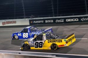 Grant Enfinger, ThorSport Racing, Ford F-150 Champion/Curb Records Clay Greenfield, Clay Greenfield Motorsports, Toyota Tundra