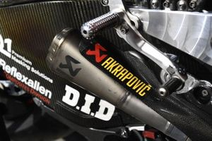Akrapovic exhausts detail