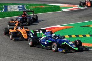 Cameron Das, Carlin, Sophia Floersch, Campos Racingand Enzo Fittipaldi, HWA Racelab
