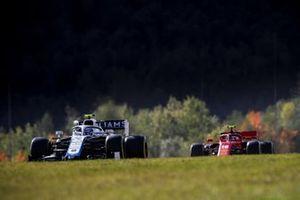 Nicholas Latifi, Williams FW43, Charles Leclerc, Ferrari SF1000