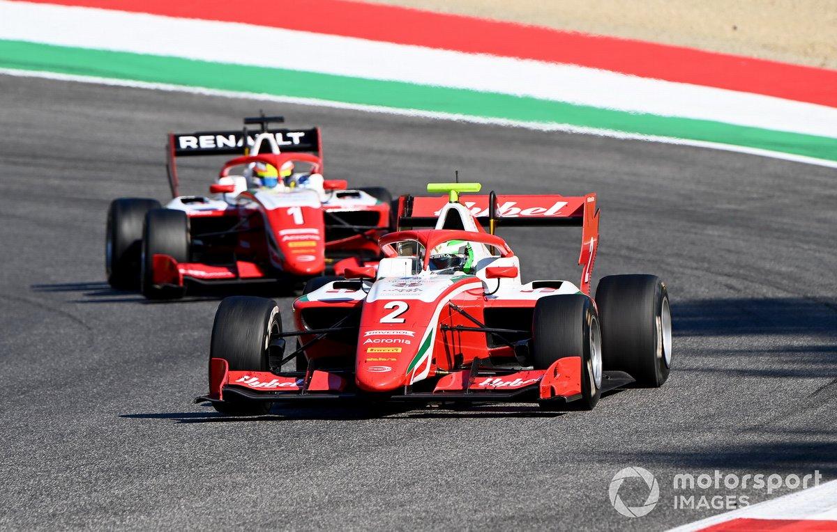 Frederik Vesti, Prema Racing precede Oscar Piastri, Prema Racing