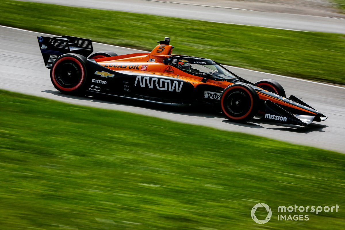 Patricio O'Ward, Arrow McLaren SP Chevrolet
