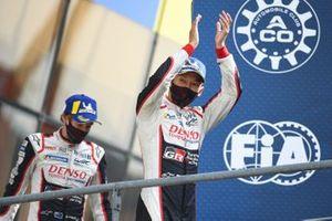 Winners #8 Toyota Gazoo Racing Toyota TS050: Kazuki Nakajima, Brendon Hartley