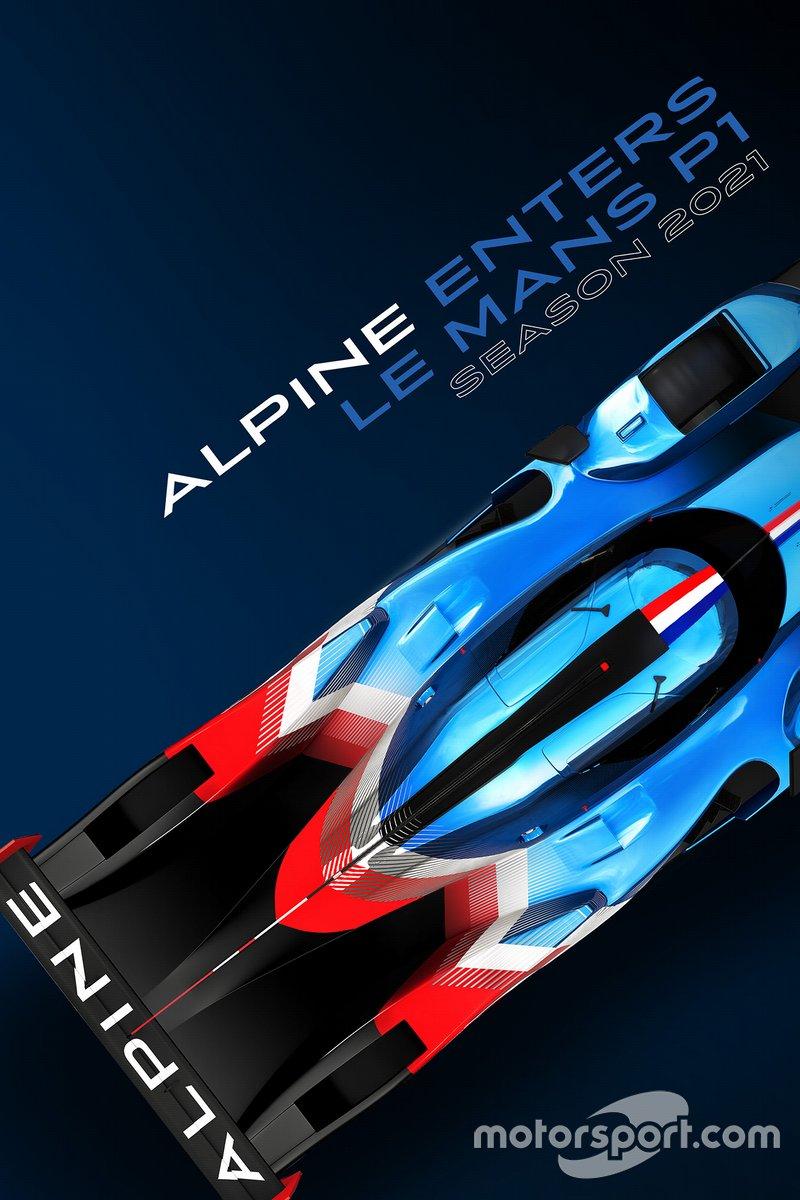 Annuncio Alpine LMP1