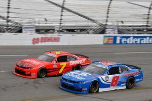 Justin Allgaier, JR Motorsports, Chevrolet Camaro BRANDT Jeb Burton, JR Motorsports, Chevrolet Camaro LS Tractor