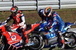 Francesco Bagnaia, Pramac Racing, Alex Rins, Team Suzuki MotoGP