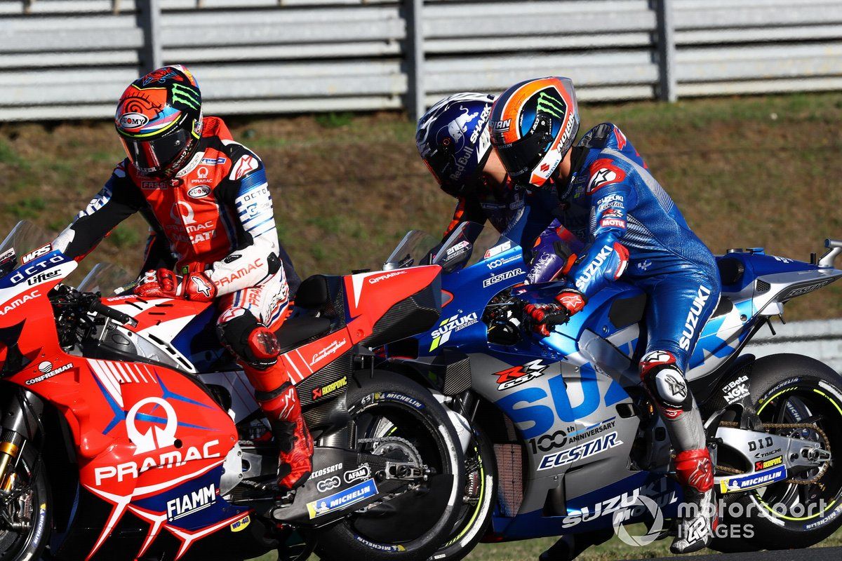 Francesco Bagnaia, Pramac Racing, Alex Rins, Team Suzuki MotoGP