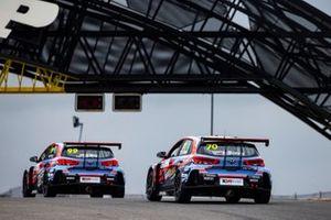 Daniel Nagy, Mat'o Homola, BRC Racing Team, Hyundai i30 N TCR