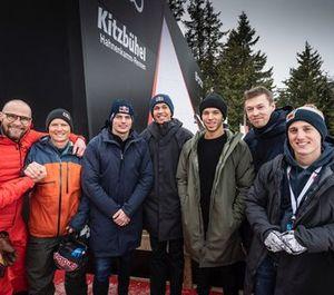 Max Verstappen, Pierre Gasly, Alex Albon, Daniil Kvyat, Pol Espargaro