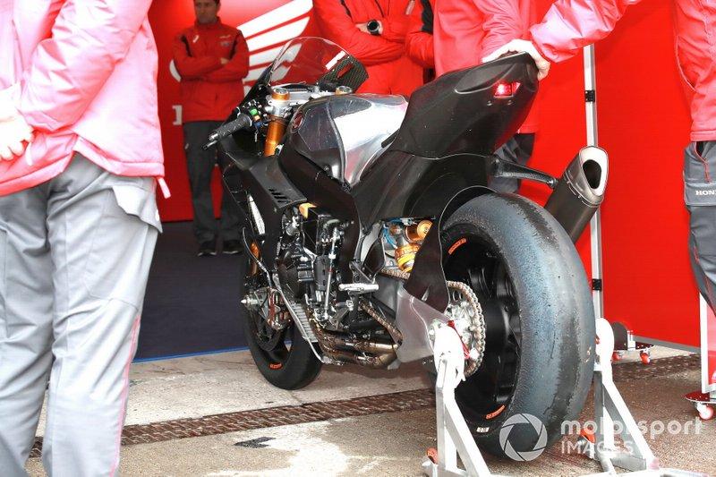 La moto de Alvaro Bautista, Team HRC