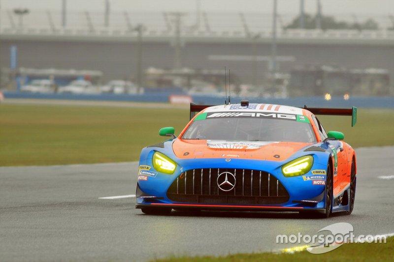 #74 Riley Motorsports Mercedes-AMG GT3, GTD: Lawson Aschenbach, Ben Keating, Gar Robinson, Felipe Fraga