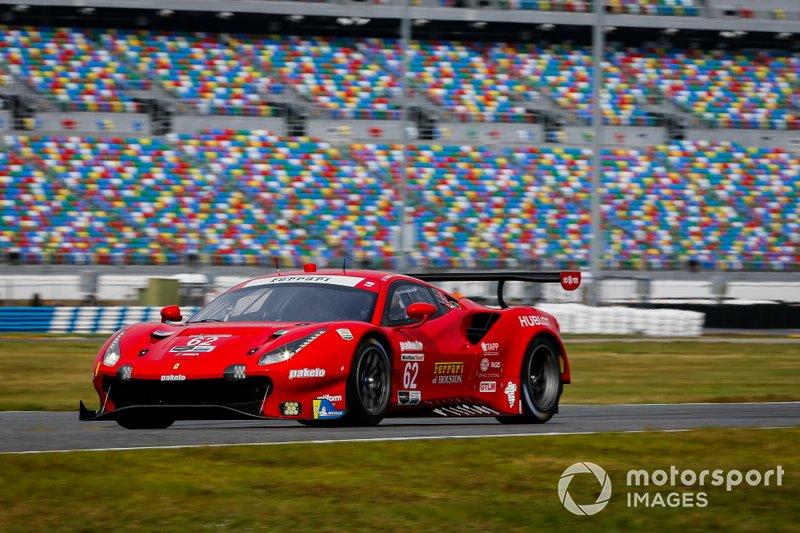 #62 Risi Competizione Ferrari 488 GTE, GTLM: Daniel Serra, James Calado, Alessandro Pier Guidi, Davide Rigon
