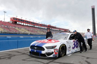 John H. Nemechek, Front Row Motorsports, Ford Mustang Fire Alarm Services