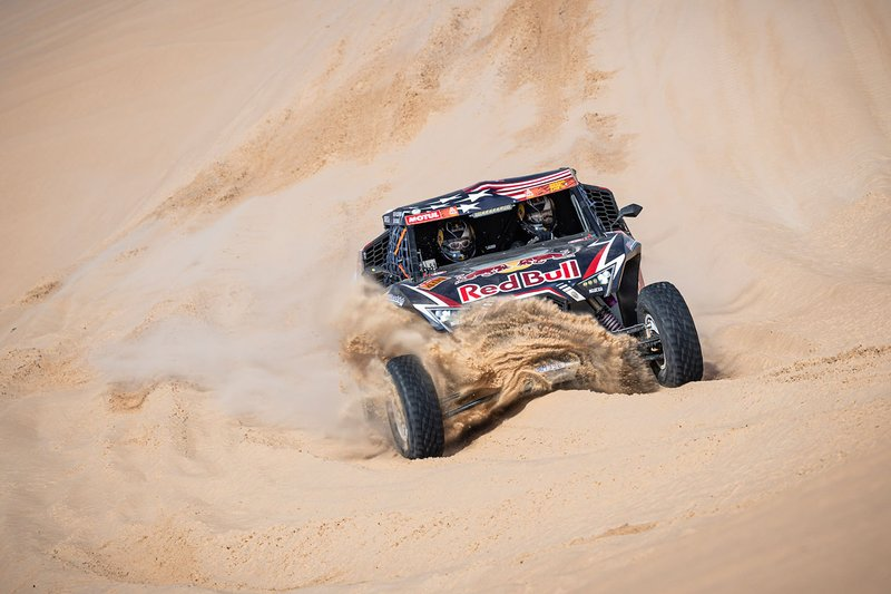 #409 Red Bull Off-Road Team USA OT3: Blade Hildebrand, Francois Cazalet